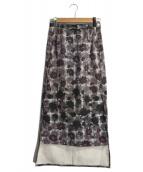 MM6(エムエムシックス)の古着「総柄スカート」