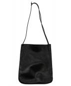 ARTS & CRAFTS(アーツアンドクラフツ)の古着「レザーサコッシュ」|ブラック