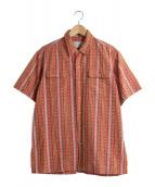 POLO RALPH LAUREN(ポロラルフローレン)の古着「半袖シャツ」|レッド