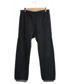 SSZ(エスエスゼット)の古着「スウェットパンツ」|ブラック