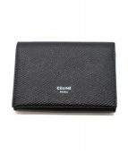 CELINE(セリーヌ)の古着「カードウォレット」|ブラック