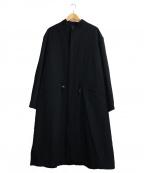 YS for men(ワイズフォーメン)の古着「ウールモッズコート」|ブラック