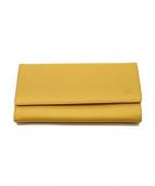 KITAMURA(キタムラ)の古着「長財布」|イエロー