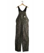 CARHARTT WIP(カーハート ダブリューアイピー)の古着「ダック地オーバーオール」|ツリーカモ