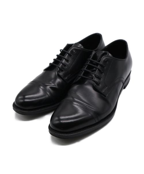 MACKINTOSH PHILOSOPHY(マッキントッシュフィロソフィー)MACKINTOSH PHILOSOPHY (マッキントッシュフィロソフィー) ストレートチップシューズ ブラック サイズ:27の古着・服飾アイテム