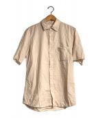 ()の古着「カットオフスリーブシャツ」 ピンク