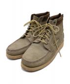 ()の古着「7Eye Chukka Boots」|ベージュ