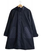 LEILIAN(レリアン)の古着「ライナー付コート」|ネイビー