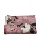 Kate Spade(ケイトスペード)の古着「カード・コインケース」|ピンク