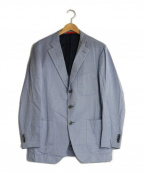 ISAIA(イザイア)の古着「3Bテーラードジャケット」 ブルー
