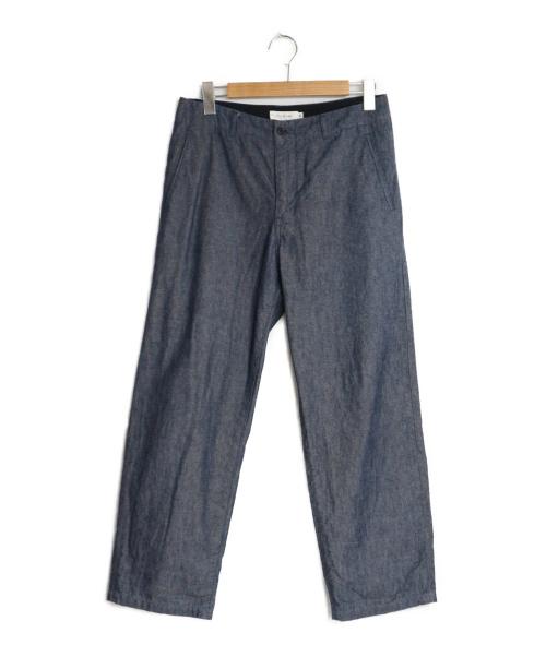 STILL BY HAND(スティルバイハンド)STILL BY HAND (スティルバイハンド) Semi Wide Denim Pants インディゴ サイズ:46 デニムパンツ ワイドパンツの古着・服飾アイテム