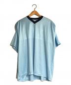 NikeLab(ナイキラボ)の古着「VネックTシャツ」 スカイブルー