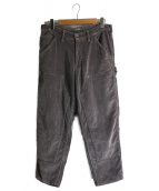 kolor/BEACON(カラービーコン)の古着「9ウェルコーデュロイペインターパンツ」|ブラウン