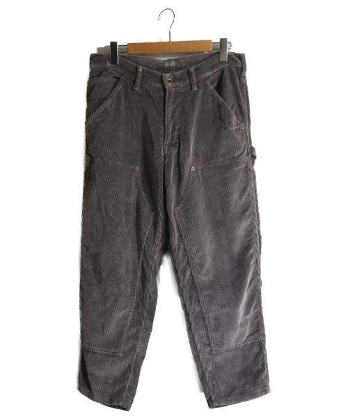kolor/BEACON(カラービーコン)kolor/BEACON (カラービーコン) 9ウェルコーデュロイペインターパンツ ブラウン サイズ:2の古着・服飾アイテム