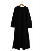 MOGA(モガ)の古着「コンパクト裏毛ワンピース」|ブラック
