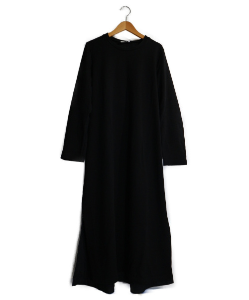 MOGA(モガ)MOGA (モガ) コンパクト裏毛ワンピース ブラック サイズ:2の古着・服飾アイテム