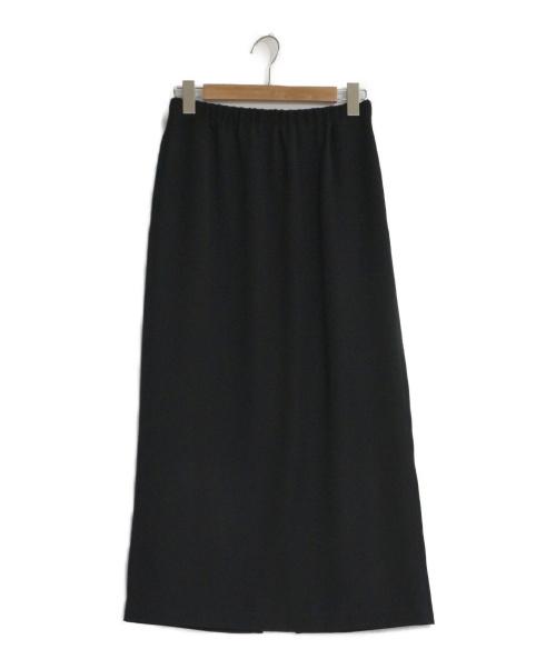 MOGA(モガ)MOGA (モガ) ピーチツイルタイトスカート ブラック サイズ:2の古着・服飾アイテム