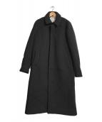 ()の古着「ロングコート」|ブラック