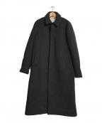 tsumori chisato(ツモリチサト)の古着「ロングコート」|ブラック