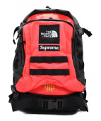 SUPREME×THE NORTH FACE(シュプリーム ×ザノースフェイス)の古着「RTG Backpack」|ピンク×ブラック