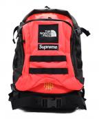 SUPREME×THE NORTH FACE(シュプリーム ×ザノースフェイス)の古着「RTG Backpack」 ピンク×ブラック