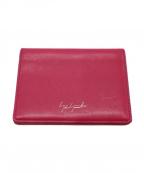 discord Yohji Yamamoto(ヨウジヤマモト)の古着「カードケース」|ピンク