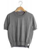 Maison Margiela 4(メゾンマルジェラ4)の古着「半袖ニット」|グレー
