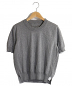 Maison Margiela 4(メゾンマルジェラ4)の古着「半袖ニット」 グレー