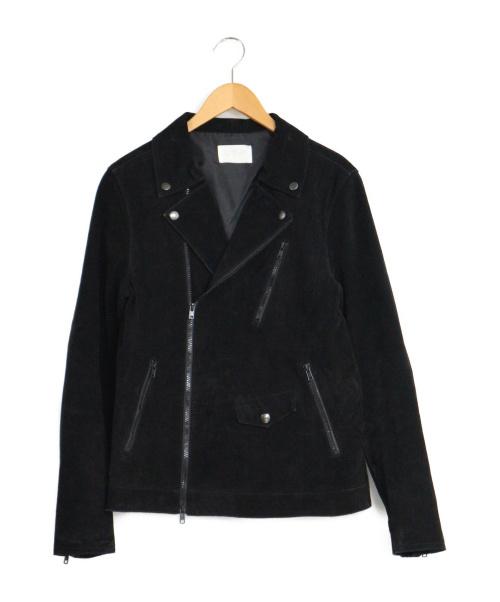 LHP(エルエイチピー)LHP (エルエイチピー) スエードライダースジャケット ブラック サイズ:M ライダースジャケット レザージャケットの古着・服飾アイテム