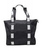 UGG(アグ)の古着「ロゴライントートバッグ」|ブラック