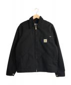 CarHartt(カーハート)の古着「ワークジャケット」|ブラック