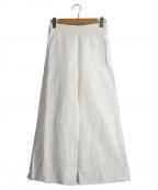 YLEVE()の古着「ワイドパンツ」 ホワイト