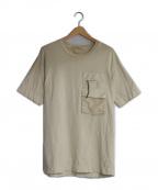 ALYX(アリクス)の古着「マルチポケットTシャツ」 ベージュ