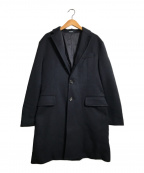 eadem(エアディム)の古着「プリマロフトチェスターコート」|ネイビー