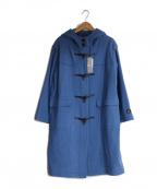 BEAMS Lights(ビームスライツ)の古着「撥水ウールダッフルコート」|ブルー