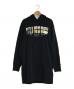ck Calvin Klein(シーケーカルバンクライン)の古着「パーカーワンピース」|ブラウン