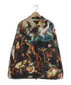 Supreme×Undercover(シュプリーム×アンダーカバー)の古着「コーチジャケット」|ブルー×ブラウン