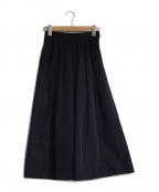 SHE TOKYO(シートーキョー)の古着「Lillyウエストリボンスカート」|ネイビー