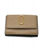 MARC JACOBS(マークジェイコブス)の古着「3つ折り財布」|ベージュ×グリーン