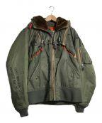 AVIREX()の古着「フライトジャケット」|オリーブ