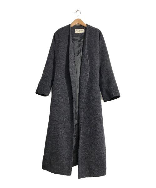 RAY BEAMS(レイ ビームス)RAY BEAMS (レイ ビームス) ノーカラーガウンコート グレー サイズ:1の古着・服飾アイテム