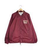 WACKO MARIA(ワコマリア)の古着「コーチジャケット」|ボルドー
