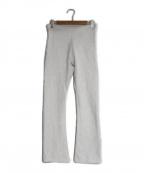 holiday(ホリデイ)の古着「ULTRA HEAVY SWEAT FLARE PANTS」|グレー