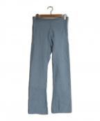 holiday(ホリデイ)の古着「ULTRA HEAVY SWEAT FLARE PANTS」|ブルー