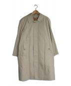 Burberrys(バーバリーズ)の古着「ライナー付裏地ノヴァチェックステンカラーコート」|ベージュ