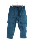 NIKE ACG(ナイキエィシージー)の古着「WOVEN CARGO PANTS」|グリーン