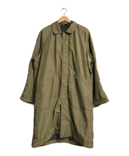 mont-bell(モンベル)mont-bell (モンベル) ダウンライナー付ステンカラーコート ベージュ サイズ:Mの古着・服飾アイテム