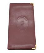 Cartier(カルティエ)の古着「長財布」|レッド