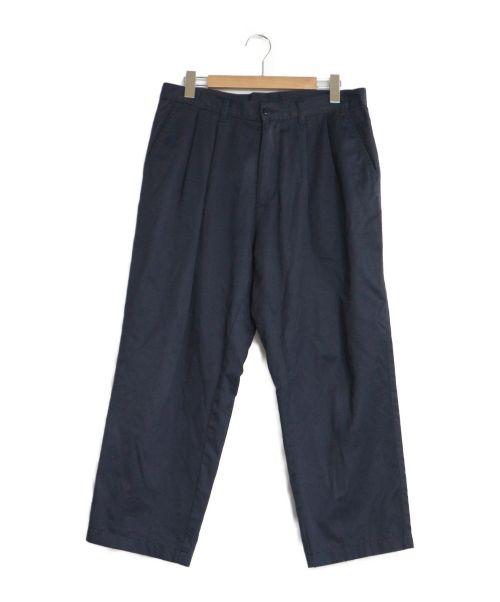 E.TAUTZ(イートーツ)E.TAUTZ (イートーツ) 2タックチノワイドパンツ ネイビー サイズ:34 チノパン トラウザーパンツの古着・服飾アイテム