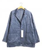 MACKINTOSH PHILOSOPHY()の古着「Brisbane Moss コーデュロイジャケット」|ブルー